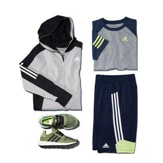 低至7.5折+额外7.5折最后一天:Adidas、Nike、Under Armour儿童运动服饰促销