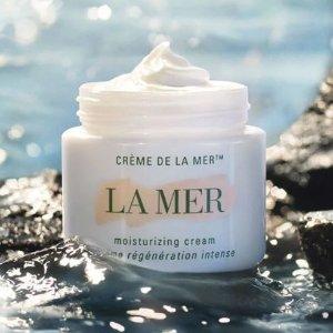 赠4件套+5ml眼霜La Mer蓝海之谜 全场送礼 15ml精粹水、经典面霜免费送
