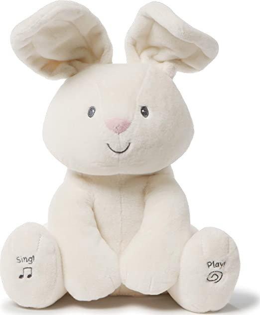 Animated: Flora Bunny Plush, Cream, 12 Inch (4061346)