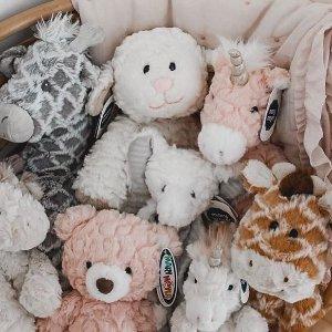 全场8折 $9.59起最后一天:Mary Meyer 宝宝安抚抱毯、玩具 宝宝必备礼物