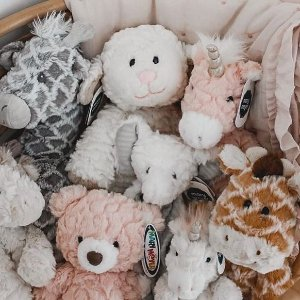 全场8折 $9.59起Mary Meyer 宝宝安抚抱毯 毛绒玩具 新生儿宝宝必备礼物