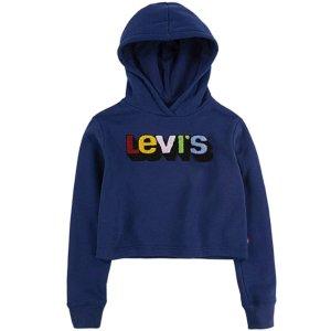 $7.02起Levi's 女童多款连帽卫衣促销