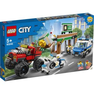 Lego适合5岁以上城市系列 怪兽卡车