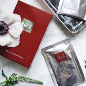 Dealmoon Exclusive! Get  3 Facial Treatment Maskswith Any purchase of $125 or more  @ SK-II