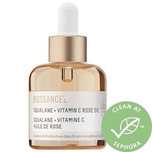 Limited Edition Squalane + Vitamin C Rose Oil - Biossance | Sephora
