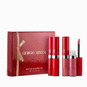$58GIORGIO ARMANI Liquid Lipstick Mini Set