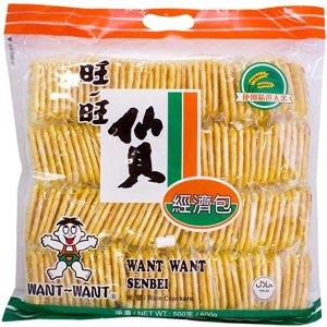 Want Want仙贝 500g
