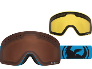 Ending Soon:$22($129.00)+Free ShippingDRAGON ALLIANCE NFXS SKI GOGGLES