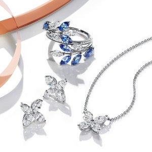 低至7折+满额最高减$100Tiffany & Co. 精美首饰热卖,珍珠手链$348,收钥匙钻石项链
