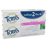 Tom's of Maine 天然薄荷防蛀牙膏 5.5oz 2支