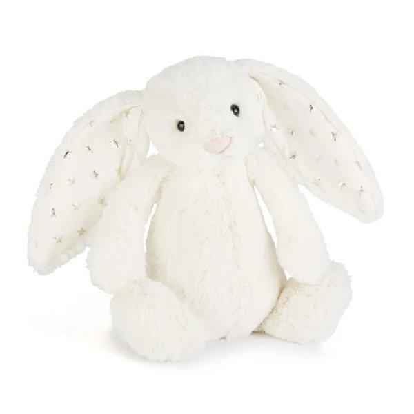 白色星星兔