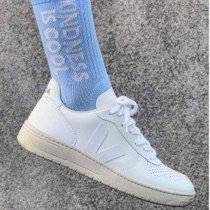 定价优势+7折独家:VEJA 法式小白鞋时尚专场 经典小白鞋$82