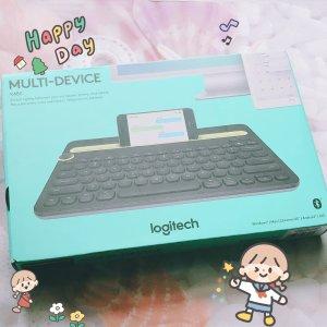 $49.99(原价$69.99)Logitech K480 无线蓝牙多设备键盘