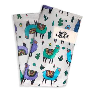 Alpaca Family Designer Pet Blanket 毯子