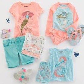 买一件送二件,新加入短袖T恤OshKosh官网 春夏潮款短袖T恤、背心、短裤、短裙促销
