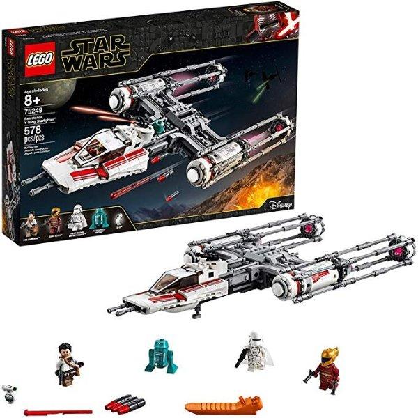 Star Wars 系列 Y翼星际战斗机 75249