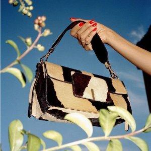 3折起 £184收超火斜挎包Wandler 美包热卖 Ins超火品牌 几何感的极简主义设计