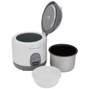Hamilton Beach Mini Rice Cooker & Food Steamer