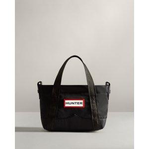 HunterNylon Mini Top Clip Tote Bag