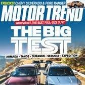 $4.25 每年Motor Trend 汽车杂志订阅