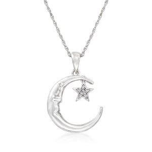 Ross-Simons星月钻石项链