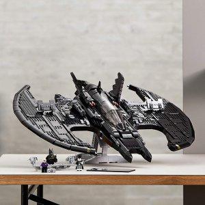 $259.99 (2363颗粒)补货:LEGO 乐高 76161 蝙蝠侠 1989 战机  官网断货