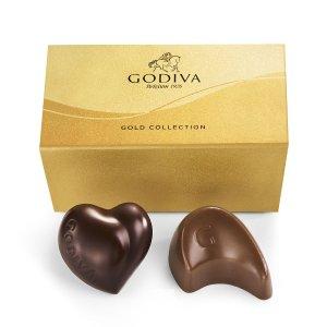 金盒巧克力2颗