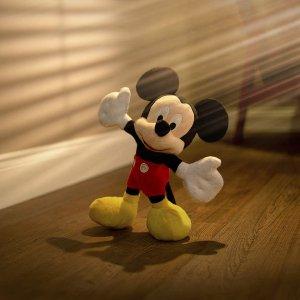 低至5.7折 25cm款仅€8Disney 迪士尼米奇毛绒公仔热促 各个尺寸都有 快把他带回家