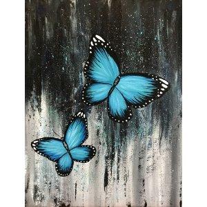 3月29日 周日 下午6-8点蓝色蝴蝶 适合6岁以上