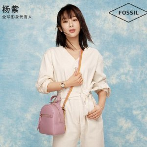 Fossil封面同款Mini 双肩包