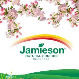 低至4折 $8.82男性复合维生素Jamieson 健美生营养保健  $4.99维C咀嚼片,$7.8深海鱼油Omega-3