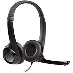 $23.99 (原价$39.99)Logitech H390 USB耳麦