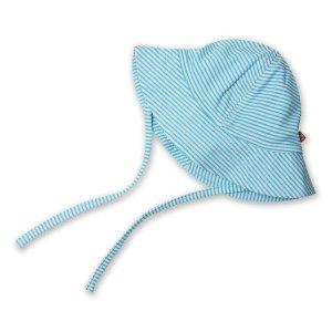 Zutano蓝白条遮阳帽 婴童款