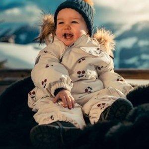 热门儿童滑雪服/棉服折扣汇总 开心温暖玩雪啰