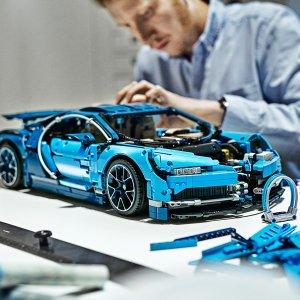 349.99 + 2X PointsLEGO Bugatti Chiron 42083