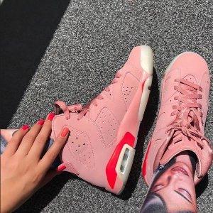 15日美中9点 $190+包邮新品上市:女生专享Air Jordan 6 Aleali May 联名设计款