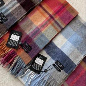 低至€22 收100%羊毛围巾Kiltane 苏格兰围巾 反季收更划算!羊绒质感 英伦风伴手礼佳品