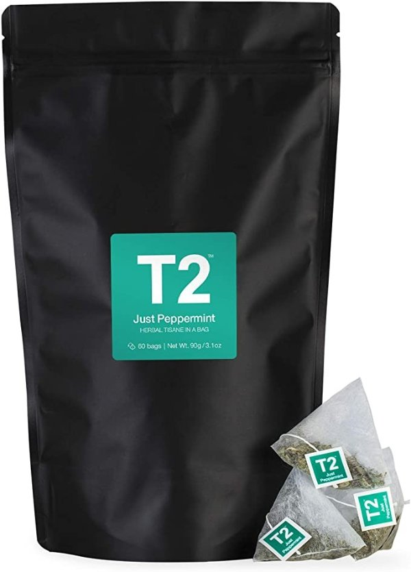 T2 Tea 薄荷凉茶 60-Count