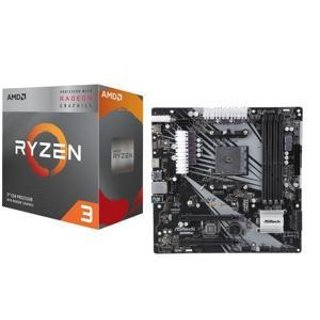 AMD Ryzen 3 3200G + ASRock B450M/AC Bundle
