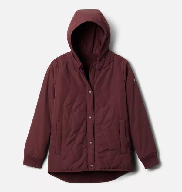 儿童保暖夹克外套双面穿