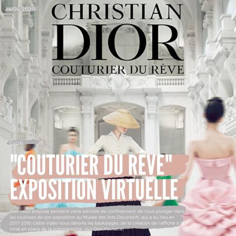 快来看迪奥王国的华丽发展【宅家看奢牌】Christian Dior成立70周年绝世回顾展