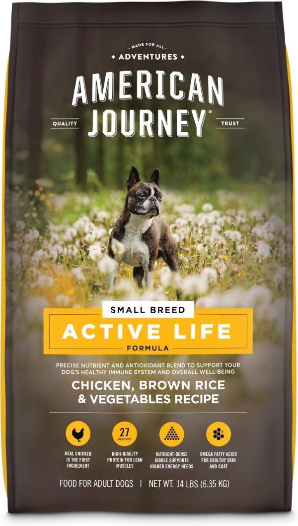 Active Life 鸡肉小型犬粮14磅