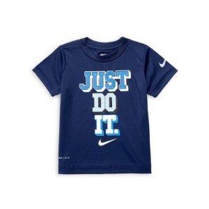 NikeLittle Boy's Dri-FIT Short Sleeve Graphic Tee