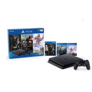 $174.98PS4 Slim 3 Games Bundle + 1 months Groupon Select