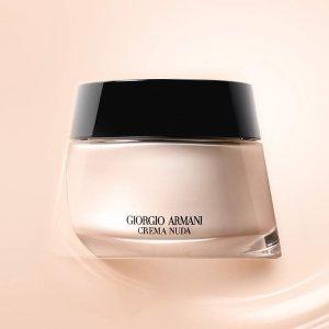 现价$170 无需凑单收豪礼最后一天:Giorgio Armani Beauty官网养肤黑曜石粉底霜8.5折热卖 打造完美底妆