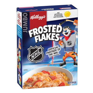 $6.99Kellogg's Frosted Flakes 谷物麦片 1.06kg大包装 早餐搭档