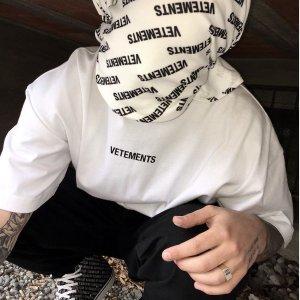 7折起 T恤£149,£443收字母logo帆布鞋Vetements 街头风男女潮服美鞋季中热卖