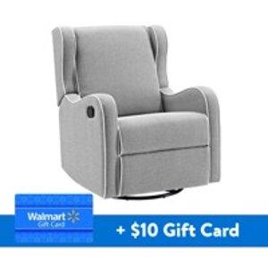 Pleasant Angel Line Windsor Glider And Ottoman White Finish And Gray Inzonedesignstudio Interior Chair Design Inzonedesignstudiocom