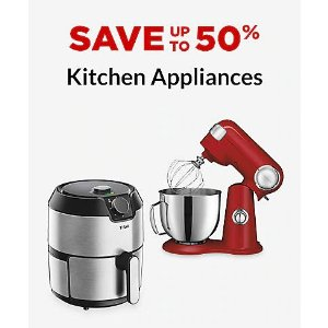 5折起厨房小电器 Ninja Cuisinart Kitchenaid等
