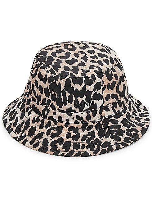 动物纹渔夫帽